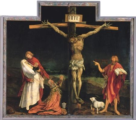 Matthias Grünewald: Kristus (Isenheim-alteret)