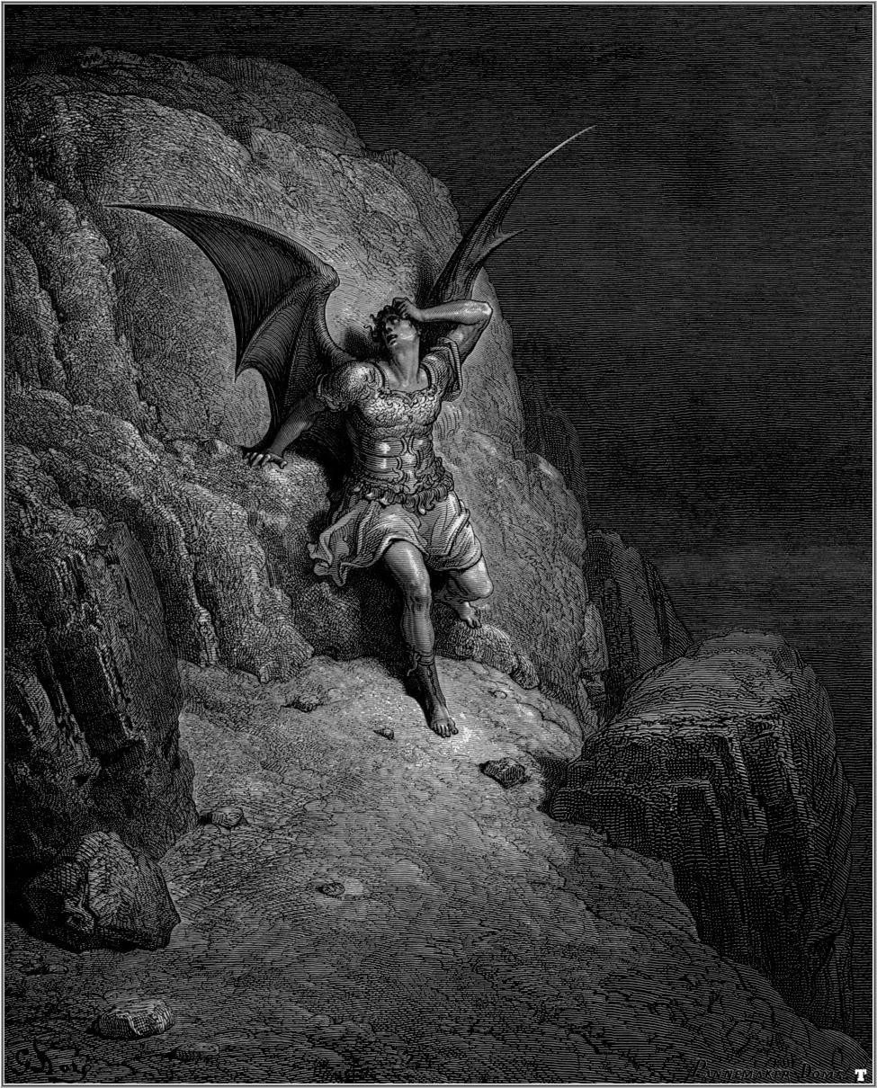 Gustave Doré: Satans fald