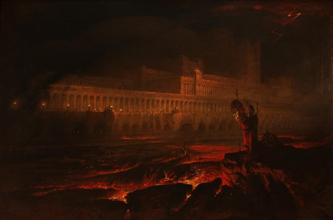 John Martin (1789–1854): Pandemonium (1841)