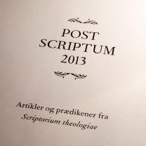 Post scriptum 2013
