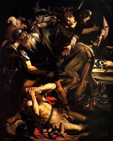 Caravaggio (1573–1610): Paulus' omvendelse