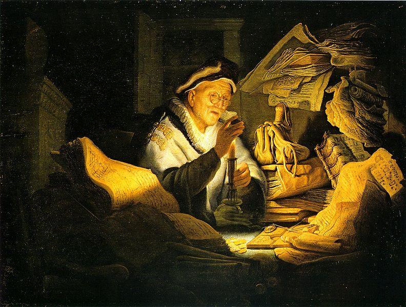 Rembrandt van Rijn: Den rige tåbe (1627)