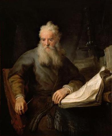 Rembrandt: Apostlen Paulus (1633)