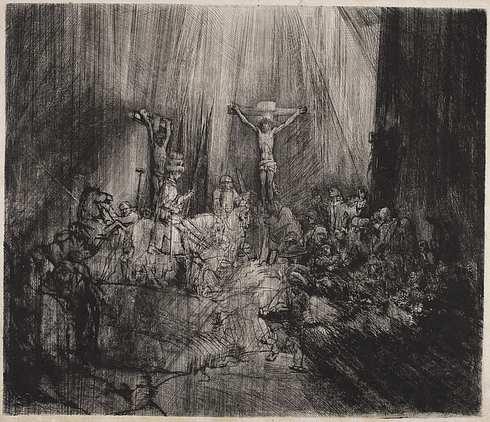 Rembrandt van Rijn: De tre kors (1653)
