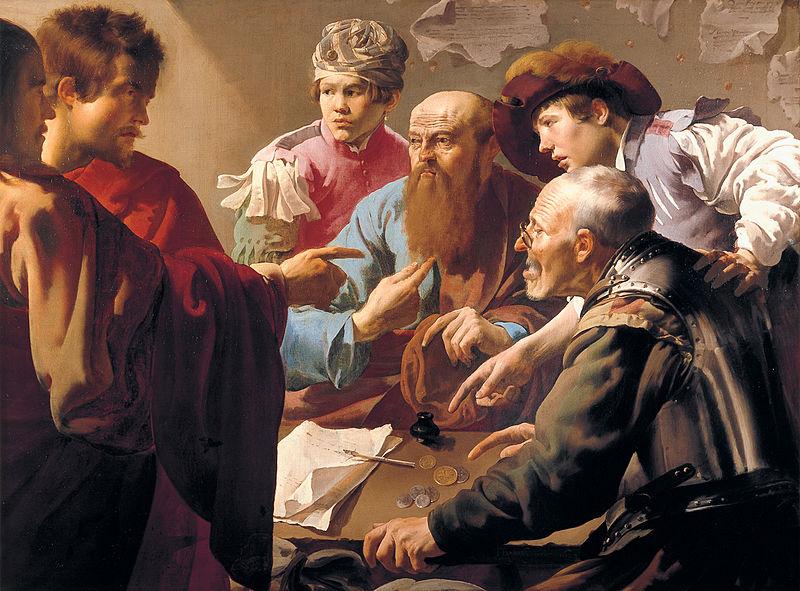 Hendrick ter Brugghen: Kaldelsen af Matthæus (1621)