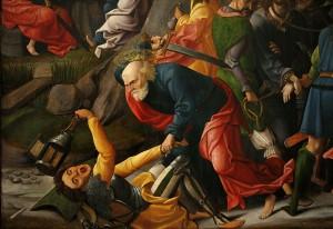Anonym: Kristi tilfangetagelse (ca. 1520)