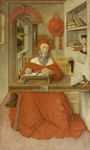 Hieronymus i sit studerekammer (Antonio da Fabriano, 1451)