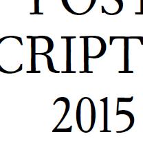 Post scriptum 2015