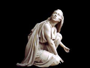 Maria Magdalene ved graven (skulptur af Bruce Wolfe)