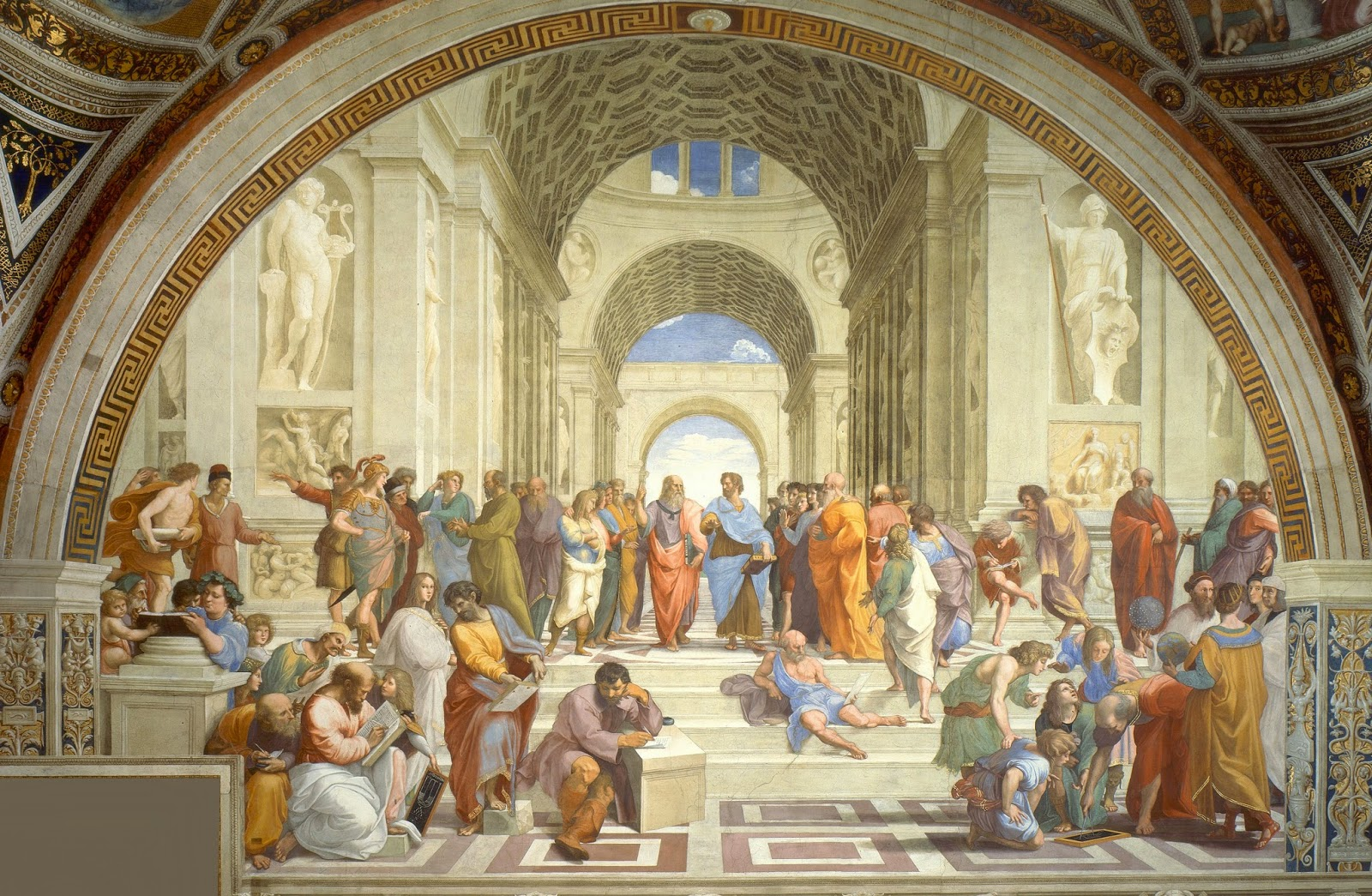 Rafael: Skolen i Athen (1509–11)